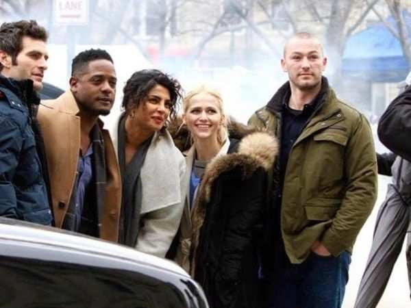 Priyanka Chopra gets emotional as Quantico ends