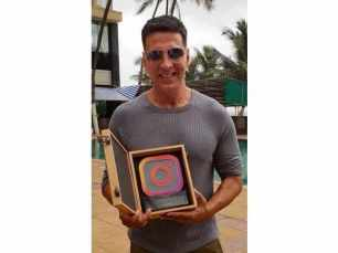 Akshay Kumar beats Shah Rukh Khan and Salman Khan on Instagram