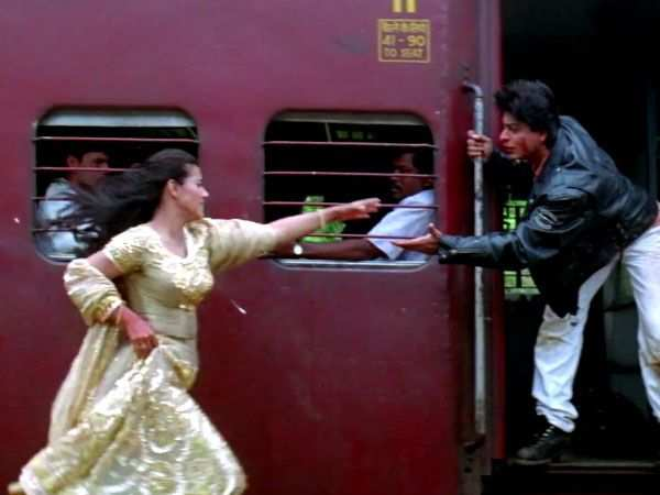 Kajol calls the iconic train scene from DDLJ pure chaos