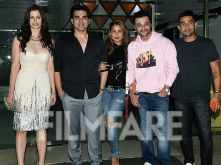 Inside Sanjay Kapoor's bash: Arbaaz Khan, Amrita Arora join in