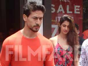 Tiger Shroff and Disha Patani snapped on a Sunday brunch date