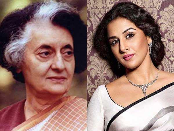 Vidya Balan confirms playing Indira Gandhi in a web series