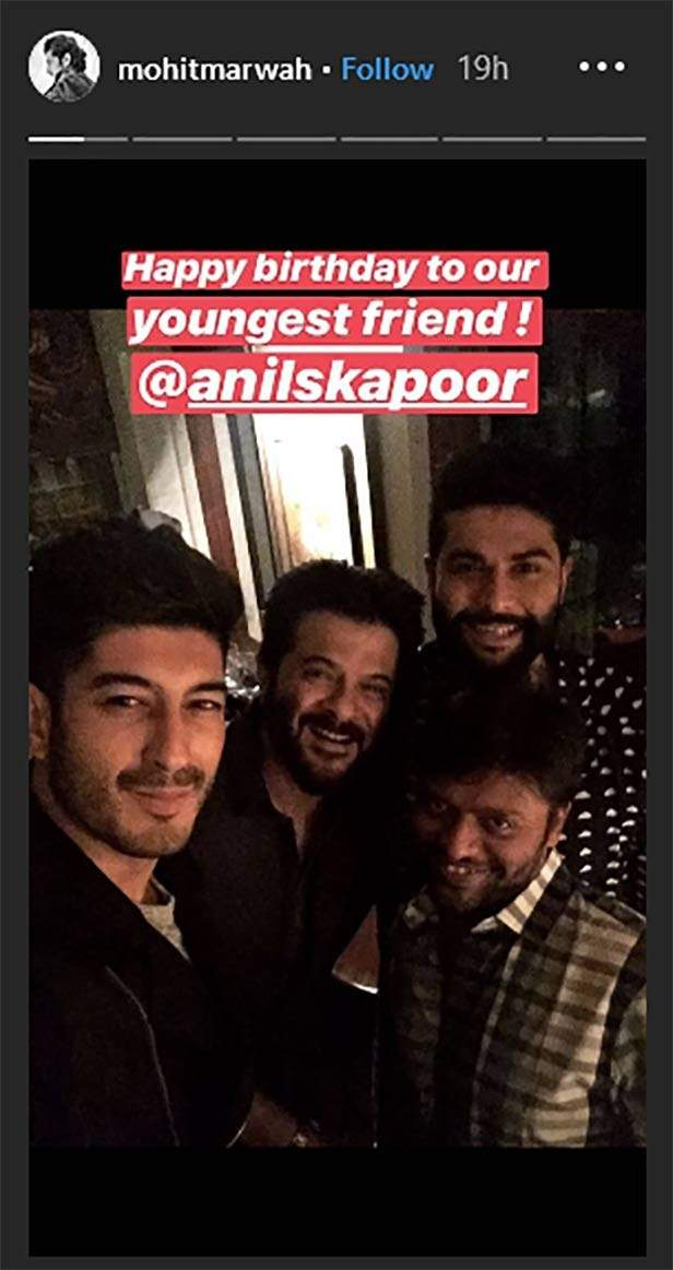 Inside pictures and videos from Anil Kapoor's party.