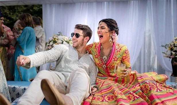 Priyanka Chopra, Nick Jonas, Denise Jonas, Paul Kevin Jonas, Nickyanka