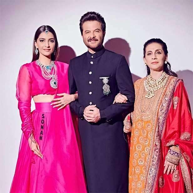 Anil Kapoor, Anil Kapoor Birthday, Sonam Kapoor, Anand Ahuja, Rhea Kapoor, Sunita Kapoor, Harshvardhan Kapoor