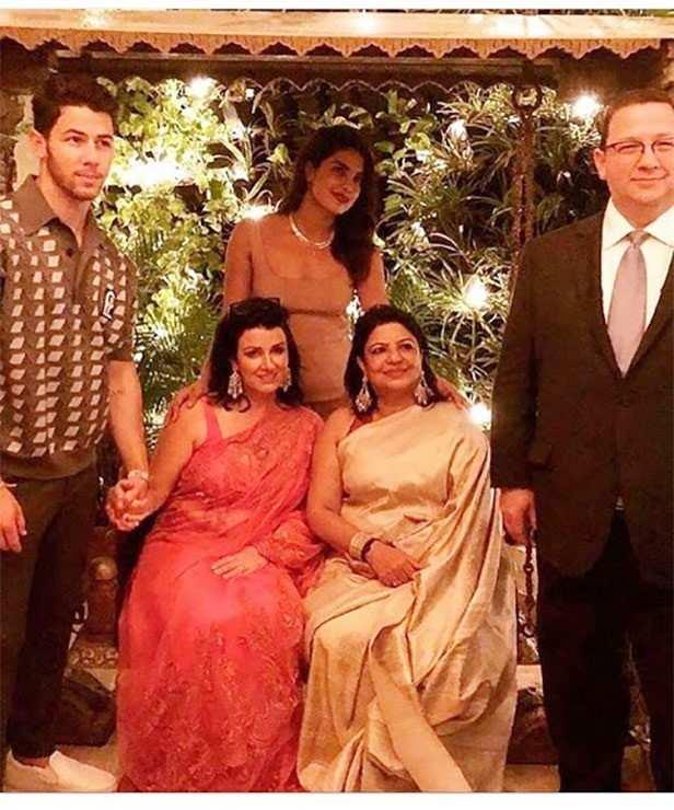 Priyanka Chopra, Nick Jonas, Sangeet, Nickyanka, Filmfare, Joe Jonas, Kevin Jonas, Madhu Chopra
