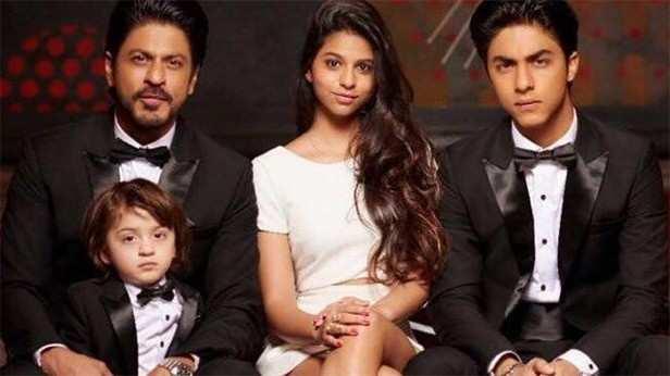 Shah Rukh Khan, Suhana Khan, Aryan Khan, AbRam Khan