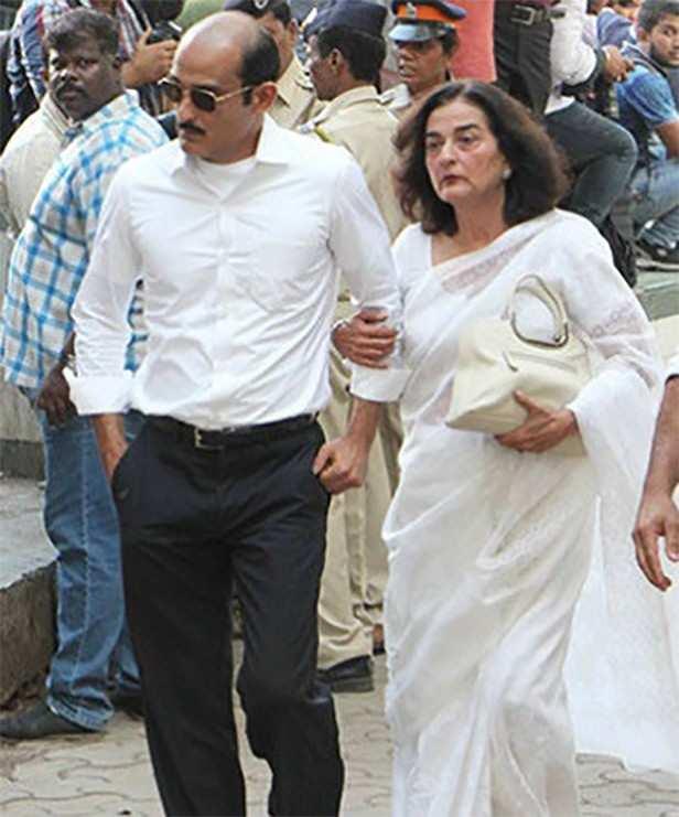 Rahul Khanna, Akshaye Khanna, Vinod Khanna, Geetanjali