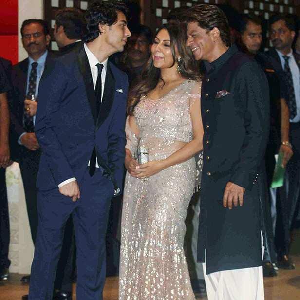 Aryan and SRK