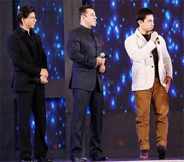 Shah Rukh Khan, Salman Khan, Aamir Khan, Zero