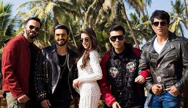 Simmba, Ranveer Singh, Sara Ali Khan, Rohit Shetty, Sonu Sood, Siddhartha Jadhav, Ashutosh Rana, Filmfare