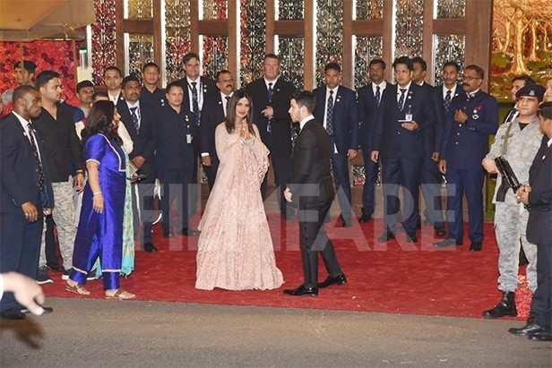 Priyanka Chopra, Nick Jonas, Isha Ambani, Anand Piramal
