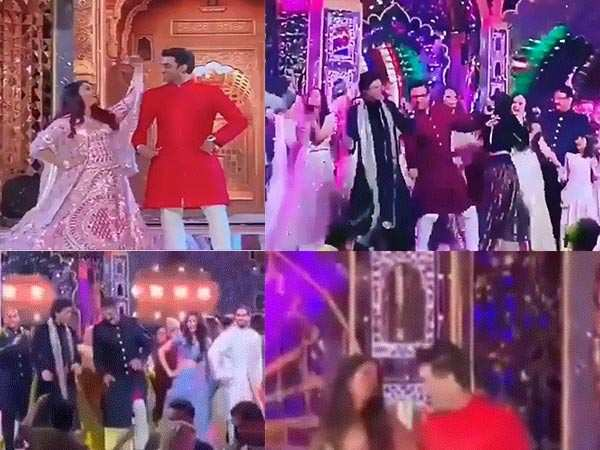 SRK, Aishwarya Rai Bachchan & Aamir Khan burn the stage at the Ambani bash