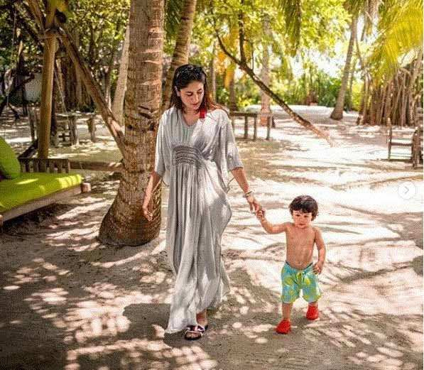 Latest pictures from Taimur, Kareena and Saif Ali Khan's Cape Town holiday