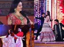 Inside photos and videos from Isha Ambani's opulent wedding celebrations