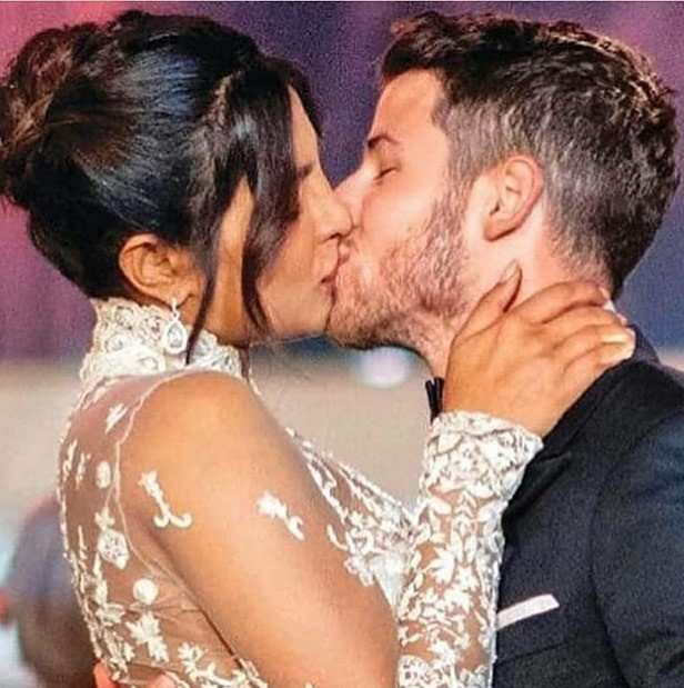 Believe it or not, our very own Desi girl Priyanka Chopra is now Mrs. Jonas. The actress tied the knot with pop star Nick Jonas in a grand ceremony at the Umaid Bhavan Palace in Jodhpur. The four day long festivities included a mehendi ceremony, sangeet night, a white wedding and a wedding according to Indian customs. Pictures from the celebrations were released on the web and ever since everyone has been talking about the magnificent setup and how the bride and groom totally killed it with their picture-perfect attires and romantic gestures throughout the wedding.   After the first round of wedding pictures, now fresh pictures have come to the forefront and we can't help but fall in love all over again. The pictures include Priyanka and Nick sharing their first kiss as man and wife, the couple posing with their entire family where PeeCee is seen carrying an adorable baby. Another picture that has been released is from Priyanka's red wedding where the actress is walking towards her groom with her brothers on all four sides carrying a phoolon ki chadar over her. All these pictures are definitely making us feel the love, what about you? If you haven't checked them out yet, scroll down…