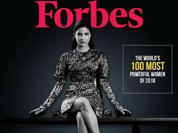 Priyanka Chopra makes it to the Forbes 100 Most Powerful Women List