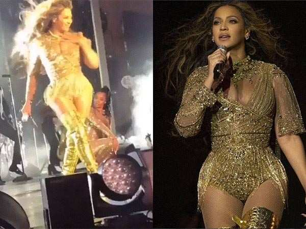 Stop everything and watch: Beyoncé takes on the stage at the Ambani wedding