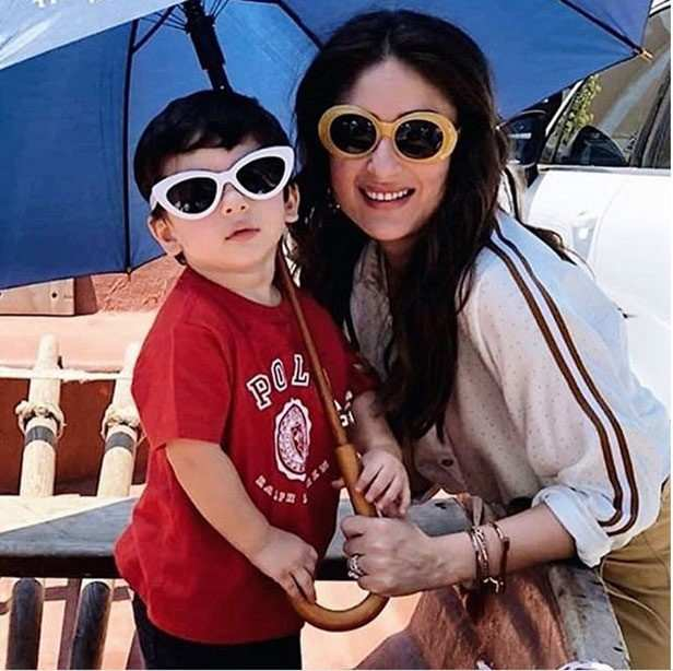 Saif Ali Khan, Kareena Kapoor Khan are being accompanied by their little one Taimur Ali Khan on their work trip currently. The couple is in Cape Town for a brand endorsement shoot and they also celebrated Baby T's second birthday while they were there. Pictures of the trio have been floating online and they seem to be having a ball there. Be it making picture perfect memories by the beach or cutting Taimur's cake, everything that the couple is upto there is making headlines here. In their latest picture, Saif, Kareena and Taimur are seen indulging in some horse riding sessions. All three of them looked every bit regal as they posed for a picture  on their respective rides.   The couple often takes out time for leisure and this trip is surely a part of that. Saif and Kareena know how to balance their personal and professional lives like pros and their timely family holidays and impressive performances are proof of that. Take a look at their latest picture right here