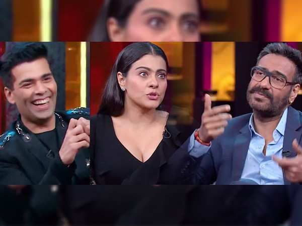 Inside scoop from Ajay Devgn and Kajol's episode of Koffee with Karan