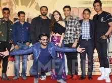 Photos! Ranveer Singh and Sara Ali Khan get goofy at Simmba trailer launch