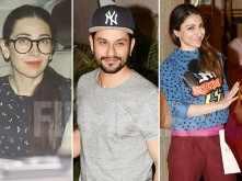 Karsima Kapoor, Soha and Kunal Kemmu pay a visit to Kareena Kapoor Khan