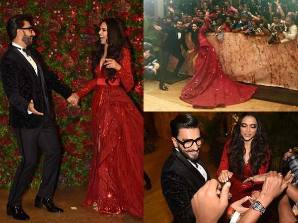 Deepika Padukone and Ranveer Singh thank the media for their support