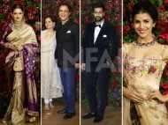 Rekha, Vicky Kaushal, Vidhu Vinod Chopra at DeepVeer's Mumbai reception