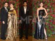 Rajkummar Rao, Ayushmann Khurrana, Hrithik Roshan at DeepVeer's reception
