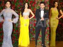 Photos! All the B-town stars who stole the show at DeepVeer reception