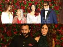 The Bachchans and Pataudis arrive in style for DeepVeer's wedding reception