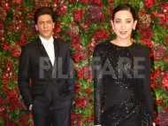 Shah Rukh Khan and Karisma Kapoor look smokin' hot at DeepVeer reception