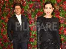 Shah Rukh Khan and Karisma Kapoor look smokin' hot at DeepVeer reception