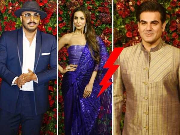 Malaika Arora's beau Arjun Kapoor & ex-husband Arbaaz Khan's awkward moment