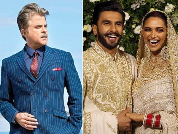 Here's what Anil Kapoor had to say to Deepika Padukone about Ranveer Singh