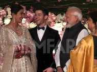 Narendra Modi at Priyanka Chopra and Nick Jonas's reception