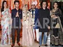 Celebrities pour in for Dinesh Vijan and Pramita Tanwar's wedding
