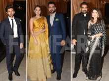Kartik Aaryan, Dia Mirza, Subhash Ghai arrive for the Ambani reception