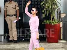 Alia Bhatt spotted leaving for Hyderabad