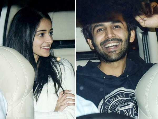 Kartik Aaryan reacts to rumours of him dating Ananya Panday