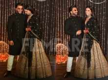 Ranveer Singh and Deepika Padukone steal the show at Nickyanka reception