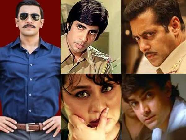 10 Iconic Cop Characters in Bollywood