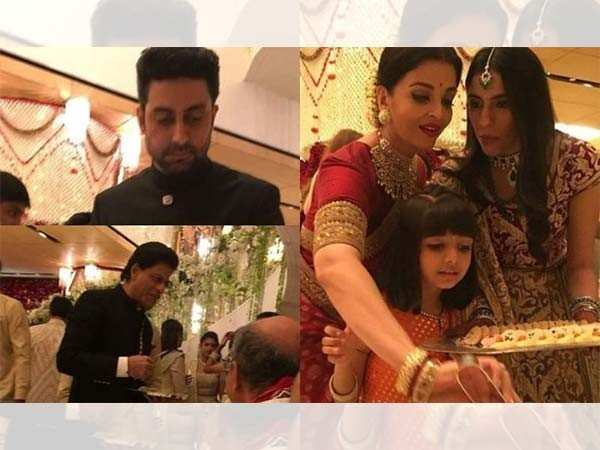 Here's why Bollywood stars were serving the guests at the Ambani wedding
