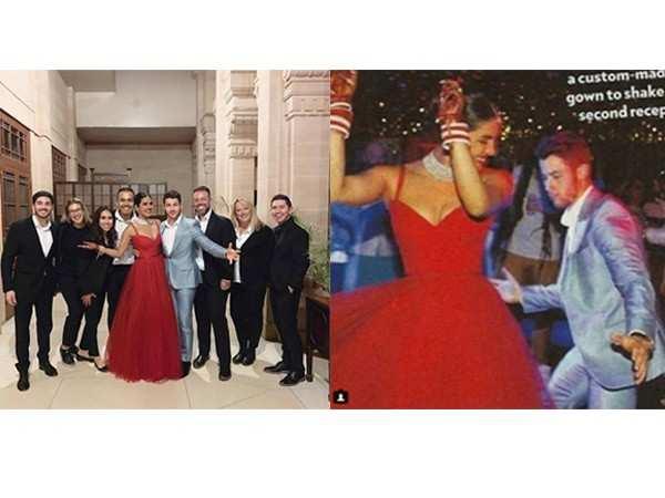 Photos: Priyanka Chopra & Nick Jonas' post wedding bash looks like a dream