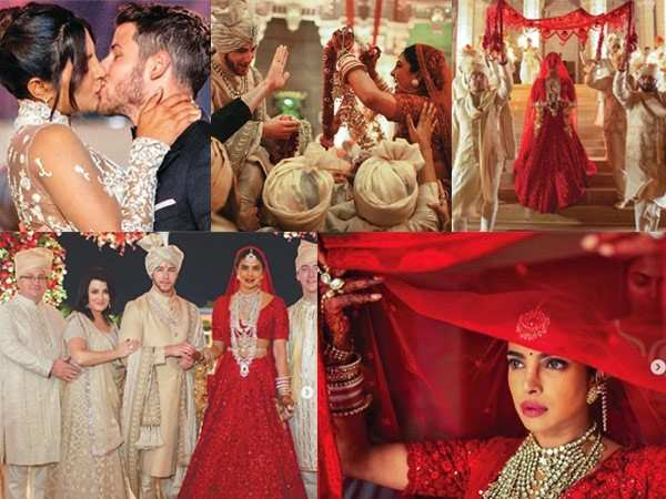These wedding pictures of Nick Jonas and Priyanka Chopra are full of love