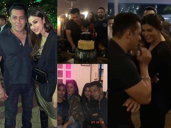 All the inside fun from Salman Khan's 53rd birthday bash