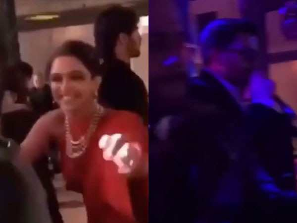 Ranveer Singh and Deepika Padukone dance all night in Udaipur
