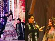 Shah Rukh Khan and Gauri Khan set the stage on fire at the Ambani wedding