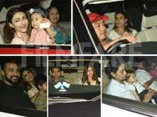 Bollywood stars attend Rani Mukerji's daughter Adira's second birthday bash