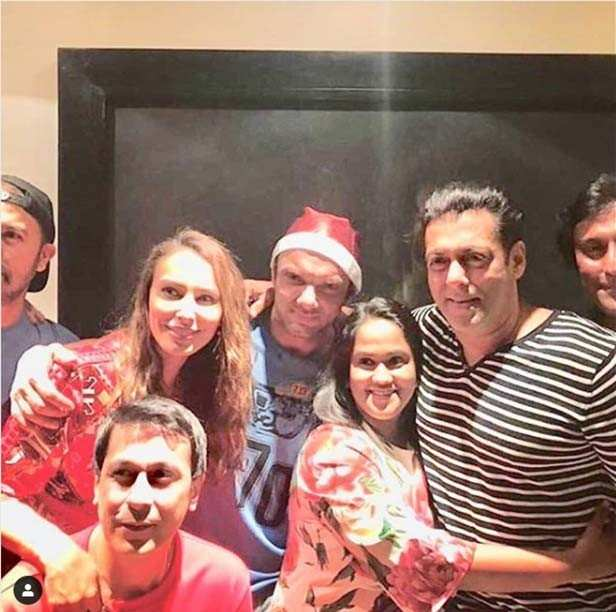 Inside access: Salman Khan's fun Christmas bash